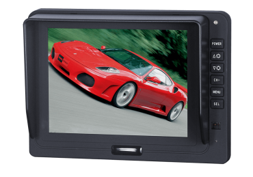 5'' TFT LCD Colour Reversing Monitor with Digital Screen