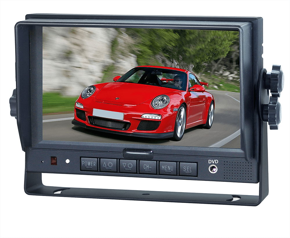 7'' TFT LCD Colour Reversing Monitor with Digital Screen
